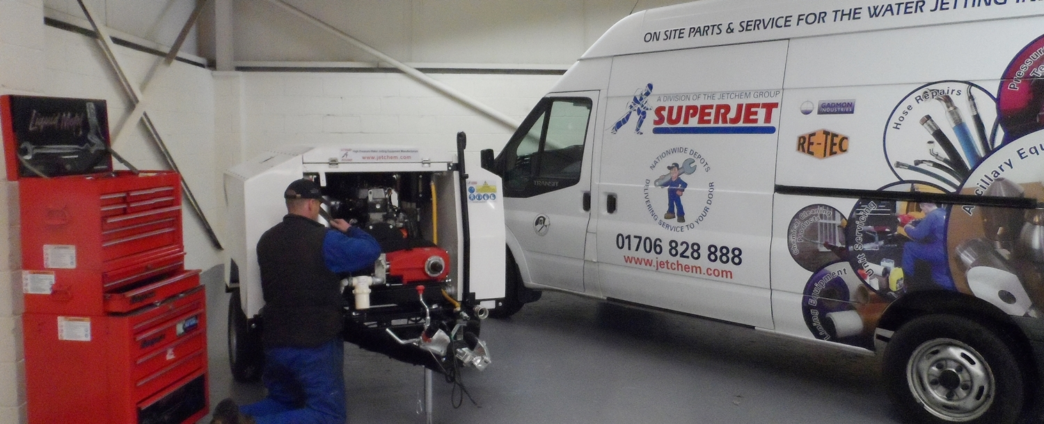 superjet water jetting service and repair